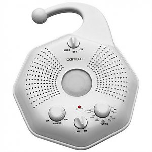 Motion Sensor Shower Radio
