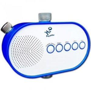 Water Powered Shower Radio