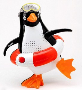 Penguin Shower Radio