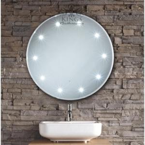 Bathroom Mirror with Sensor