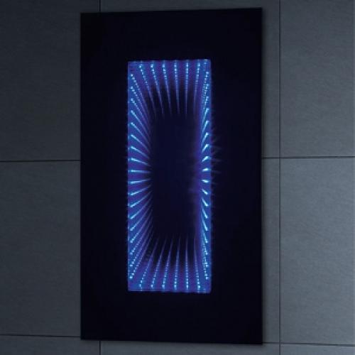 Blue Infinity Mirror