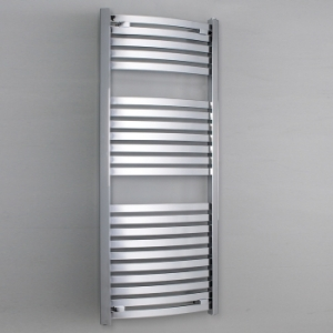 Rochelle curved chrome radiator
