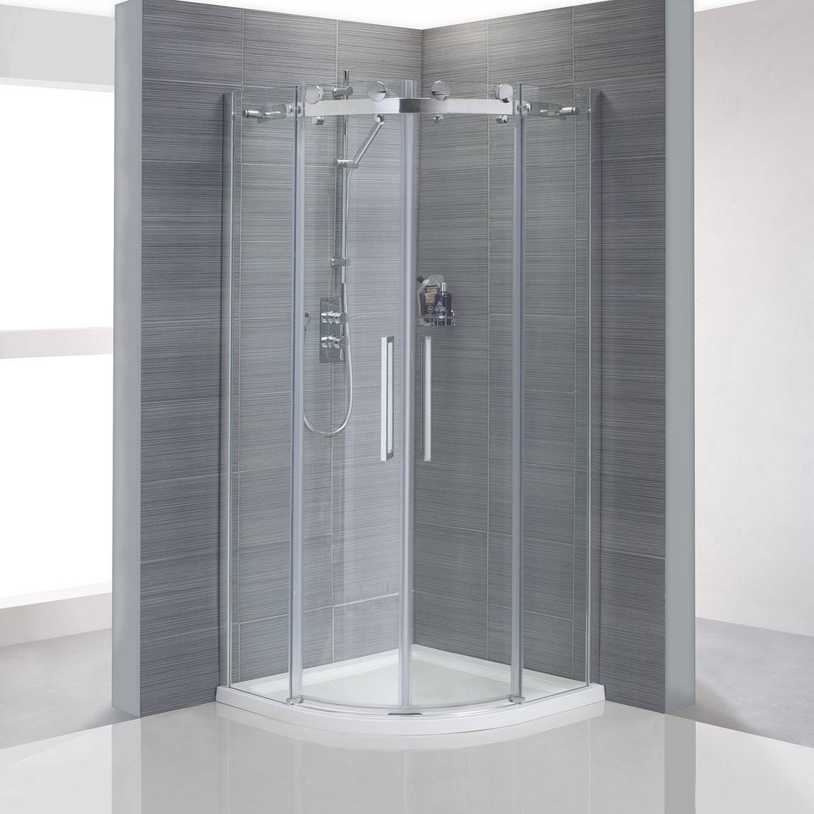 Marvelous Best Quadrant Shower Enclosure Part - 1: Sloegrin Frameless Quadrant Shower Enclosure