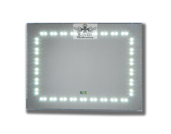 LEd bathroom mirror from Kings Bathroom