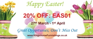 Kings Home Furnishing 20% off Code