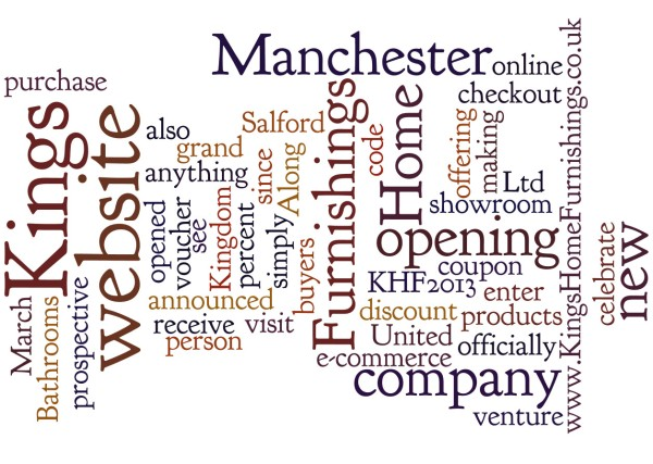 Kings home furnishings wordle