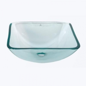 glass bathroom bowl basin