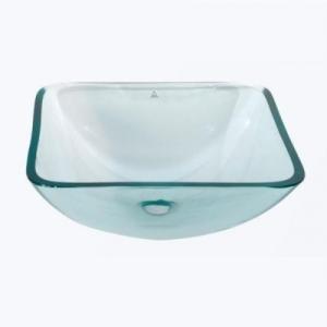 glass bathroom bowl basin