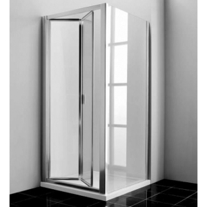 bi-fold shower enclosure door