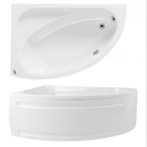 oval corner baths