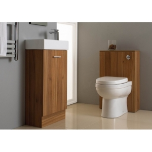 vanity unit and toilet set